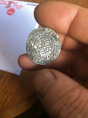 RARE 1568 Elizabeth I Silver Sixpence Coin