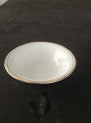 Duchess Bone China Ascot, Bowl, In White With Gold Guilding,