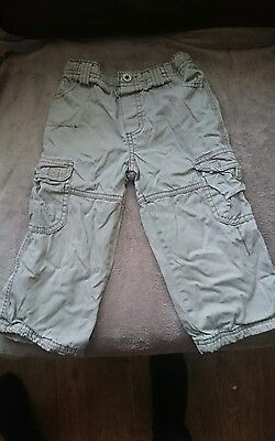 boys trousers size 18-23 months beige