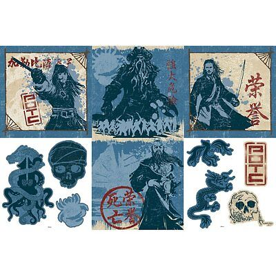 Blue Mountain Wallcoverings 31720486 Pirates Self-Stick Decorating Kit