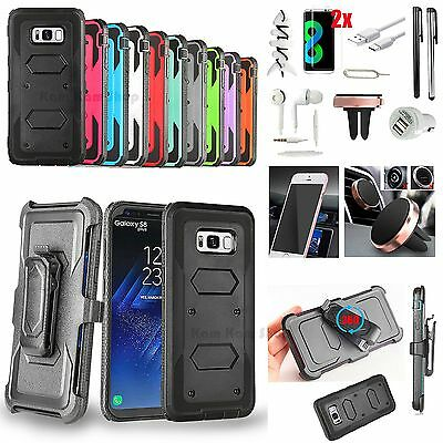 13 x Accessory Case Cover Magnetic Car Mount Holder Charger For Samsung Galaxy