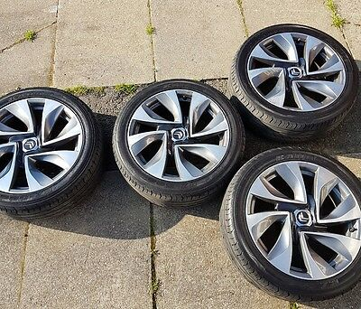 CITROEN DS5 Alloy wheels 18'' x4 with tyres