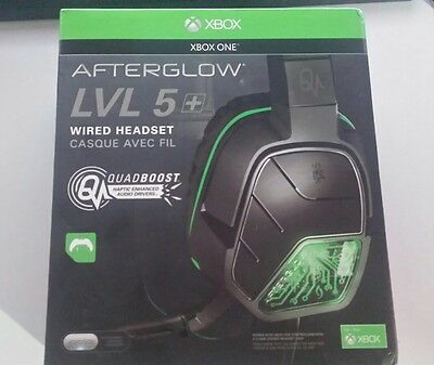 Cuffie xbox one/pc Afterglow Lvl 5+