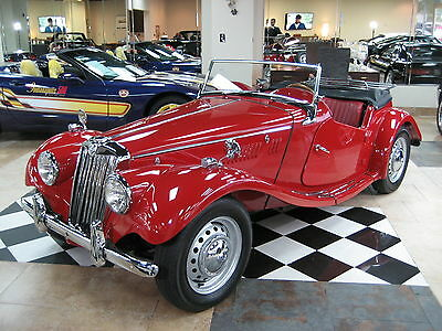 1954 MG T-Series  how Quality 1954 MG TF Roadster
