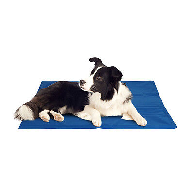 Cooling Gel Mat Kennel Pet Dog Cat 4 Sizes Summer Pad Heat Relief Crates Beds