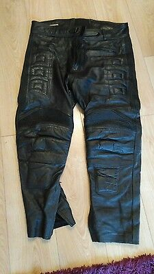 Ace leathers Leather Motorbike Trousers size 44