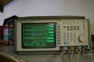 HP Agilent 54503A 500 MHz 4 Channel digital Oscilloscope DSO 10441A probe MASK