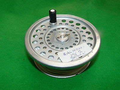 Hardy marquis Salmon No 2 fly reel spare spool & line