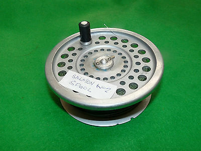 Hardy marquis Salmon No 2 fly reel spare spool & line sinking