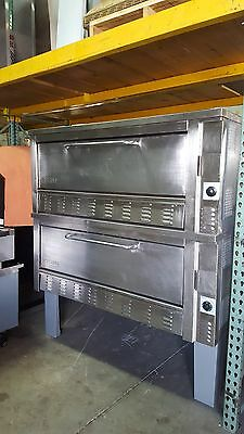 Used Model 312 Zesto Double Deck Gas Pizza Oven Includes Free Shipping