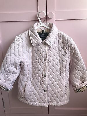 Burberry Girl's Pink Jacket Age 3