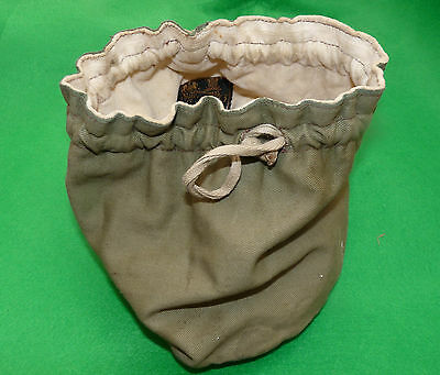 """vintage rare size Hardy Selvyt 7"""" reel bag for game fly reels perfect silex"""