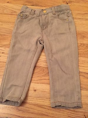 Baby Girls Grey Slim Fit Jeans Age 12-18 Months