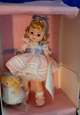 """Madame Alexander 8"""" Maggie's First Doll /Alice Doll /Doll & Teddy Expo"""