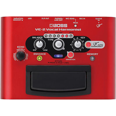 Boss VE2 Harmonist Guitar Effect Pedal