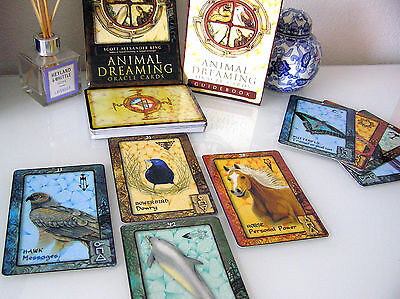 COFFRET ANIMAL DREAMING ORACLE 45 Cartes + Livre 132 P. Oracle Deck