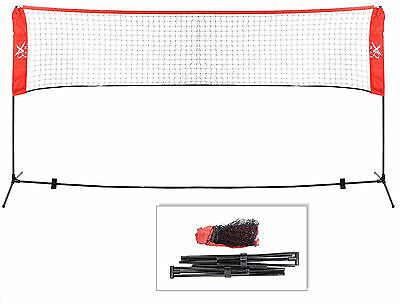 3m Height Adjustable Portable Volleyball & Badminton Net Easy To Assemble