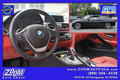 2014 BMW 4-Series 428i xDrive 2014 BMW 428i AWD Coupe Black on Red Sport Prem Nav LOADED Fac Warranty