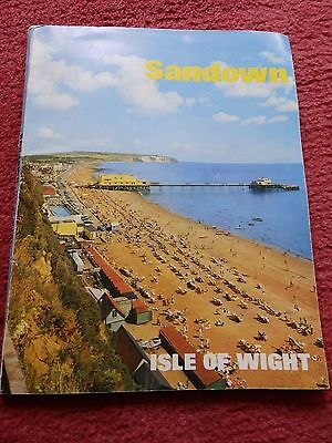 Vintage Sandown - Isle of Wight Holiday Guide Book