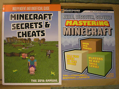Mastering Minecraft , Build , Discover, Survive & Minecraft Secrets And Cheats