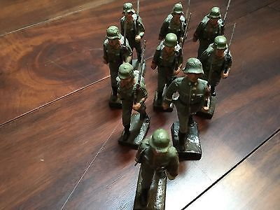 LINEOL ww2 era German battalion w officer