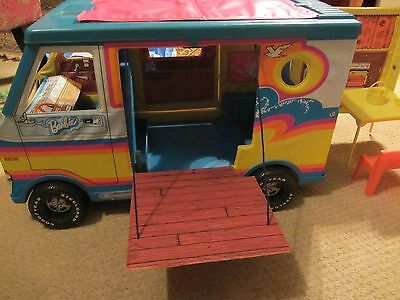 Barbie Beach Bus by Mattel (Vintage 1970s) / Beach Surf Van Camper