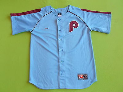 Jersey PHILADELPHIA PHILLIES (Youth XL) (14/15 years) NIKE 1972/1989 PERFECT MLB