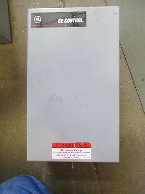 Ge Cr260, 4 Pole Electrically Held Lighting Contactor, 120 Volt Coil