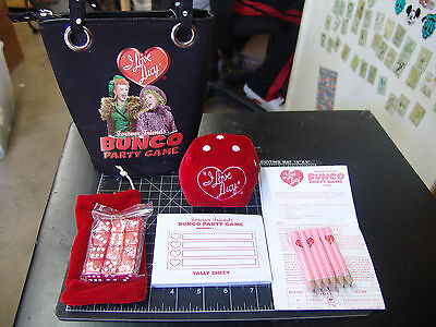New I Love Lucy Bunco Party Game