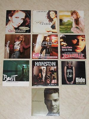 Lot De 10 CD Single (Années 90-2000)