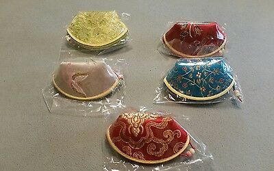 Lot  Of  5  New  Womens  Coin  Purses