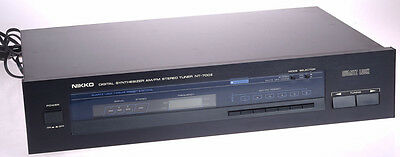 Nikko Digital Synthesizer AM/FM Stereo Tuner NT-700II - fully operational  GreaT