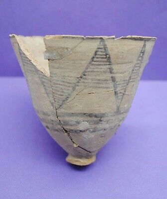 Ancient Indus Valley decorated cup Bronze Age period 3rd-2nd millennium BC