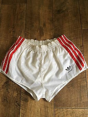 Vintage Adidas Shorts Sports West Germany Glanz Retro Sprinter Holiday D3 W26 XS