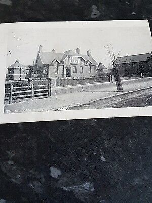 the Victoria hospital worksop posted 1904 very rare