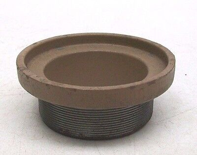 """Nos J R Smith Cast Floor/roof Drain Receiver Collar 3"""" Pipe 4"""" Dome/strainer Kb"""