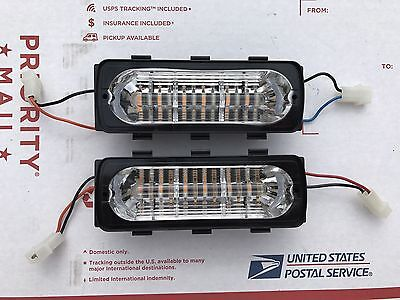 Whelen LFL Liberty 500 Series DUO LIN6 LED Newest Version Pair Warranty RA - BA