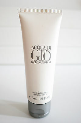 Armani Acqua di Gio After Shave Balm 75ml NEW