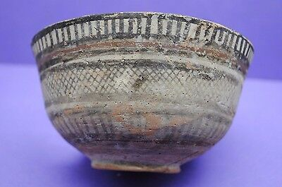 Ancient Indus Valley decorated vessel Bronze Age period 3rd-2nd millennium BC