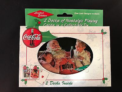 Coca Cola 1999 Limited Edition Playing Cards Unopened in Original Box