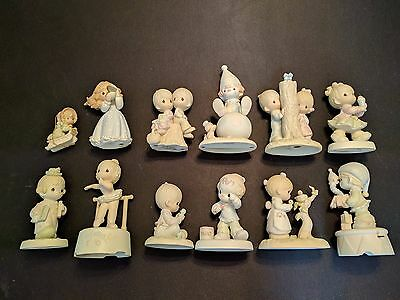 Precious Moments Lot of 12 Pieces in Mint Condition with Original Boxes