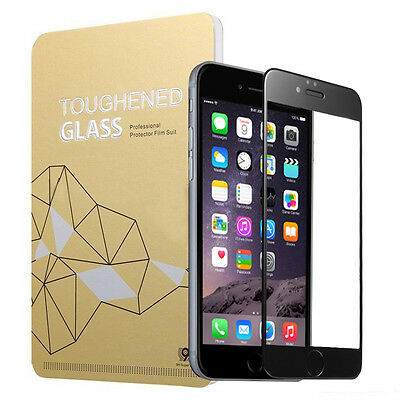 Full Cover 3D Tempered Glass Soft Edge Screen Protector iPhone 6,6s,7,Plus