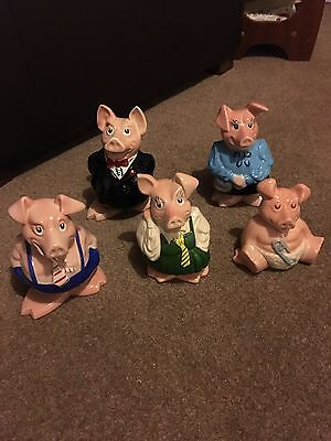 Wade NatWest Pigs Excellent Condition