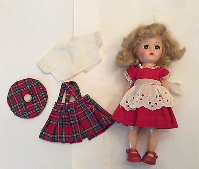 1950's Ginger Doll with extra outfit Ginny Muffie Alexanderkin