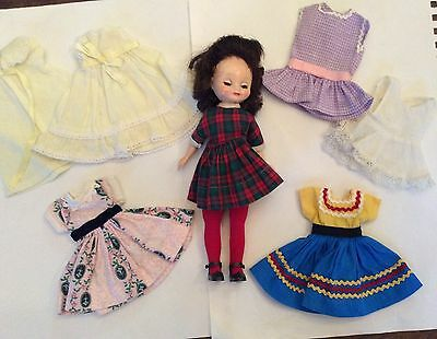 1950's American Character BETSY MCCALL DOLL Original Dress + Handmade outfits