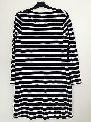 Pre-owned - Size 16 - Maternity Dress - Breton Stripes