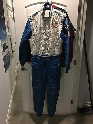 Sparco Racing Suit Size Euro 60, FIA And SFI Certified