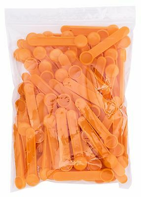 Disposable 0.625cc Polypropylene Scoops, 250 - 400mg Capacity (Pack of 100)