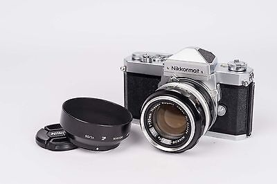 Nikkormat FT + Nikkor-S Auto 1:1.4 50mm  - NEW SEALS