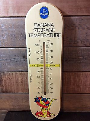 Chiquita Banana Thermometer Large Size Rare Collectible Vintage